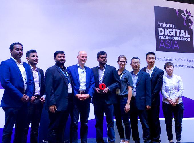 TM Forum Catalyst Award Win