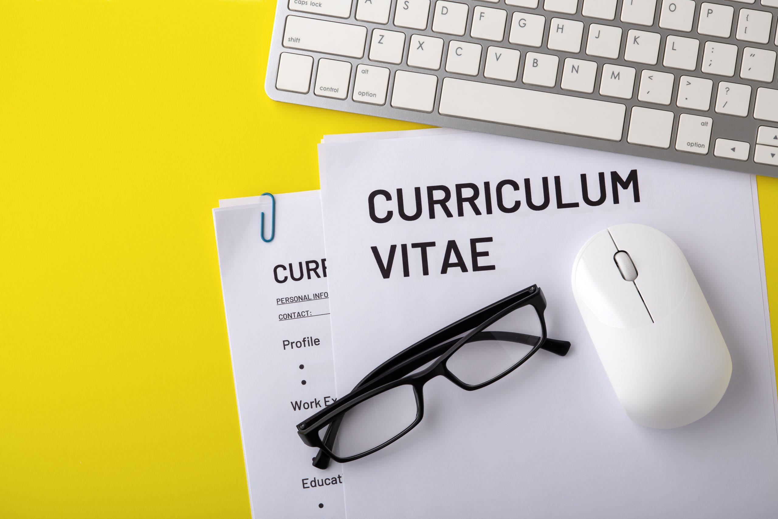 curriculum vitae for recruitment