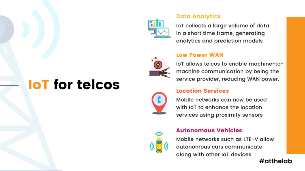 How IoT can benefit telcos