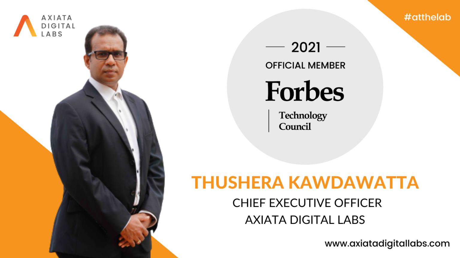 ADL CEO Thushera Kawdawatta Forbes Technology Council